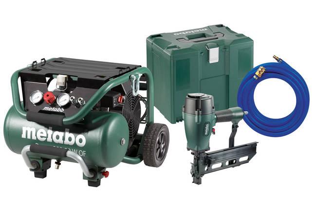 Набор Metabo Set Power 400-20 W OF + DKG 114-65 + шланг (690892000), фото 2