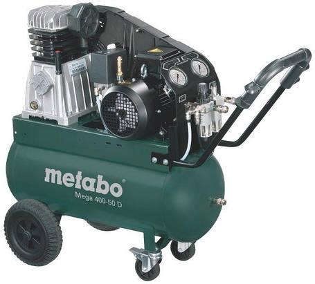 Компрессор Metabo Mega 400-50 D 601537000, фото 2