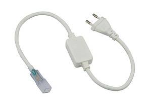 Кабель питания для LED лент 220В (3528/3014-120) IP65 подкл.до 50м (BM)