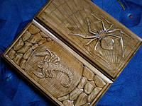 Нарды из дерева купить**Паук-Скорпион**, фото 1
