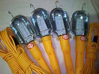 Переносная лампа электрическая с удлинителем 10 м от прикуривателя