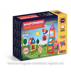 Конструктор магнитный Magformers Мой первый набор 32 элемента, фото 2