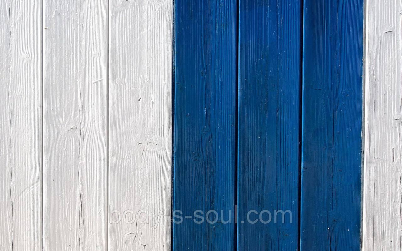 Фотофон виниловый, белые и синие доски