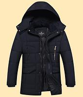 Теплая мужская зимняя куртка. Модель 6101, фото 2