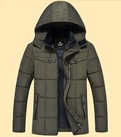 Теплая мужская зимняя куртка. Модель 6101, фото 3