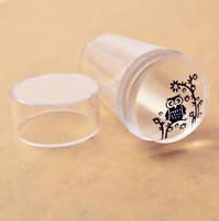 Штамп для стемпинга силиконовый прозрачный , фото 1