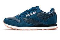 Кроссовки темно-синие, мужские Reebok Classic, р. 41 42 43 45 46