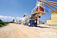 Мобильный бетонный завод MEKA 100M MB-100М