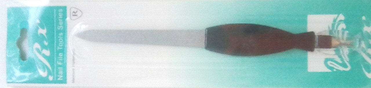 Маникюрная пилочка для ногтей двухсторонняя