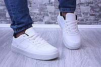 Кроссовки белые в стиле форс, фото 1