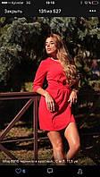 Легкое летнее короткое платье 42-48р