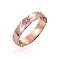 """Обручальное серебряное кольцо с позолотой """"925"""""""