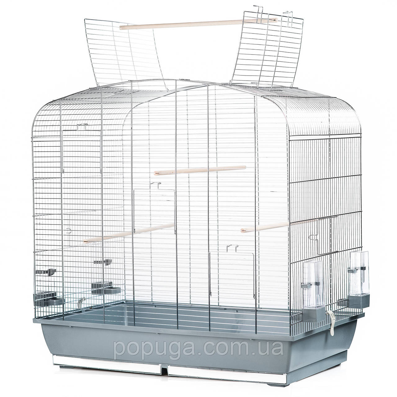 Клетка для птиц SARA CABRIO, цинк