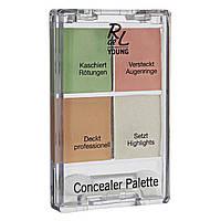 Rival de Loop Young Concealer Palette - Палитра корректоров для лица, 6 г