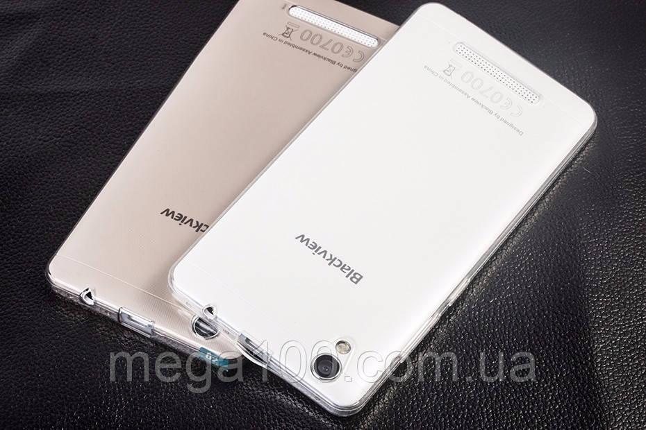 Чехол силиконовый для смартфона Blackview A8