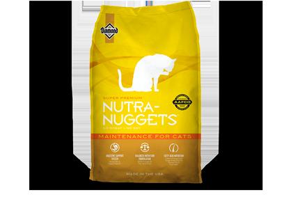 Nutra Nuggets (Нутра Наггетс) Maintenance сухой корм для взрослых кошек, 7.5 кг