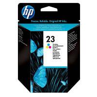 Струйный картридж HP №23 Color (Цветной) (C1823D)