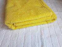 Полотенце махровое Азербайджан 70х140 средне-желтое