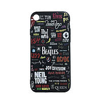 Чехол силиконовая накладка 3D Sparcle Premium Print TPU Soft Touch The Beatles Apple iPhone 7 Plus