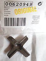 00620949 Нож для мясорубки Bosch, 4-х лопастной, 45 мм, нерж.сталь