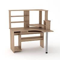 """Компьютерный стол """"СУ-10"""" производства мебельной фабрики Компанит"""