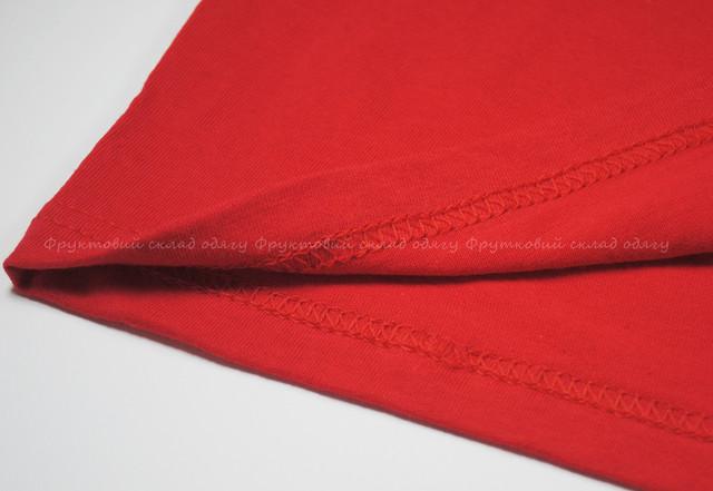 Красная детская легкая футболка