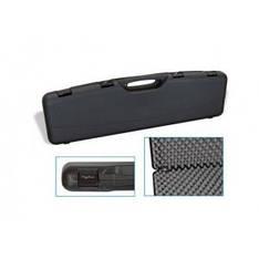 Кейс Mega line 97x25x10 пластиковый, черный, клипсы