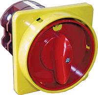 """Кулачковый переключатель пакетный CS (0-1, с блокировкой в положении """"0"""" желто красный), ETI,"""
