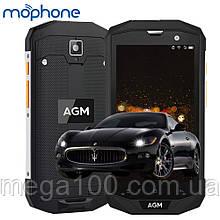 """Смартфон AGM A8 протиударний (""""5-екран, пам'яті 4/64, акб 4050 маг)"""