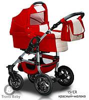 Детская коляска универсальная 2 в 1 Trans baby Jumper 15/cr