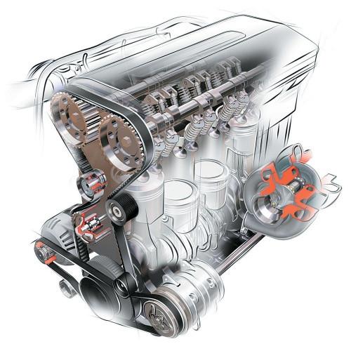 Детали двигателя