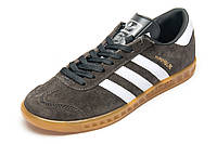 Кроссовки Adidas Hamburg, мужские, серые, р. 44
