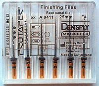 Protaper  F4 Dentsply Maillefer (ПРОТЕЙПЕРЫ:машинные  Майлифер)