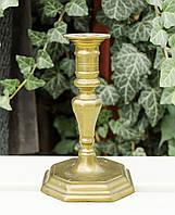 Бронзовый коллекционный подсвечник, бронза, Германия, фото 1
