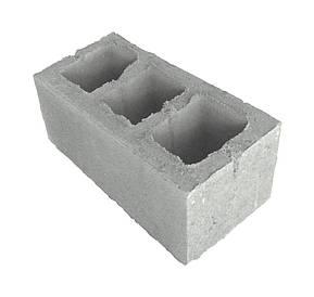 Шлакоблок 400*200*200 мм (стеновой блок)