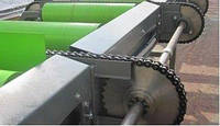 Рольганг приводной с механизмом сбрасывания пиломатериала