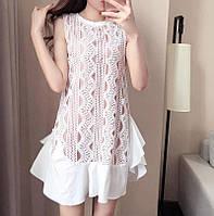 Платье женское красивое с дорогим кружевом