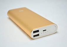 Повербанк Power bank Xiaomi 16 000 mAh- с  2 USB порта- Внешнее зарядное устройство (реплика), фото 2