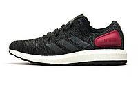 Кроссовки мужские Adidas Ultra Boost M, текстиль, черные, р. 41 42 43 44 45