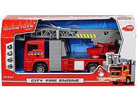 Машинка Пожарная City Fire Engine 31 см с водой  Dickie 3715001