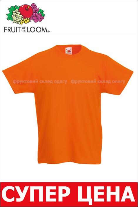 Футболка Оранжевая Женская Купить