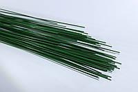 Проволока флористическая, декоративная. Зеленая  0,7 мм (2 шт/уп)