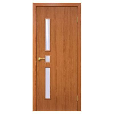 Двери межкомнатные ОМиС «Комфорт ПВХ» (полотно со стеклом)