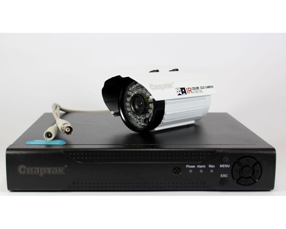 Комплект видео наблюдения на 4 аналоговые камеры DVR KIT 6604 (Регистратор + камеры 4ch)