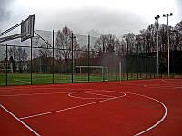 Строительство баскетбольных площадок