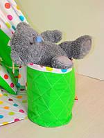 Корзина для игрушек под цвет вашего вигвама или отдельно