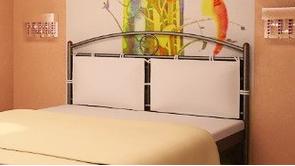 Подушка для кровати Инга кож зам, фото 2
