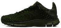 Мужские кроссовки Nike Free Inneva Woven (найк фри) хаки