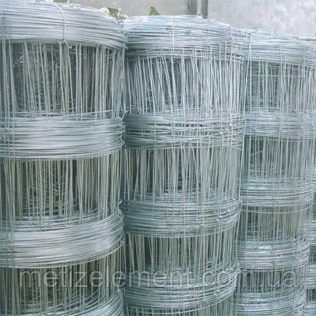 Сетка шарнирная 200/25/15 - Ø 2,0/2,5мм оц, 50 пог.м/рулон