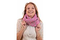 Шерстяной женский  шарф снуд